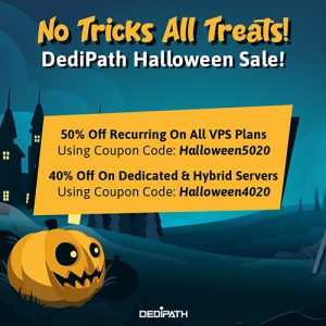《DediPath: Special Halloween Offer》